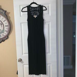 Michael Kors Sleeveless Knit Stretch Bodycon Dress